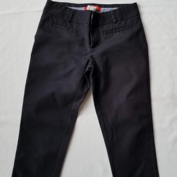 eab24b81e96 Cartonnier black split hem capri